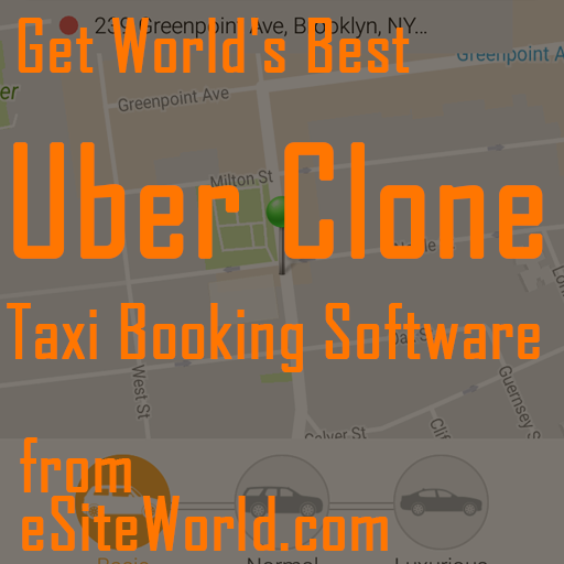 uber clone - taxi booking software